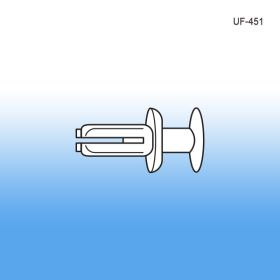 Universal Steel Shelf Fastener - Display Construction, UF-451