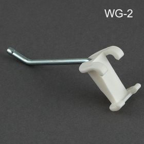 "2"" No Sag™ Metal Wire Power Panel Hook, WG-2"