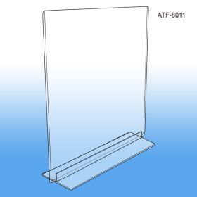 table top Sign Frame, 8.5 inch x 11 inch, ATF-8011