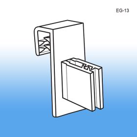 Shelf Edge Clips - Channel Strips | Flag Position, EG-13