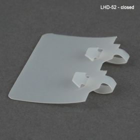 label holder for upc with double loop lhd-52