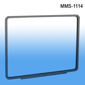 "14"" wide x 11"" high metal sign frame with magnetic base, MMS-1114"