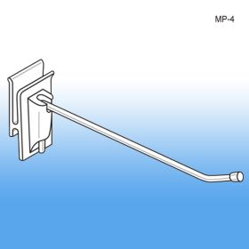 "4"" No Sag™ Easy Remove Corrugated Power Panel Metal Hook, MP-4"