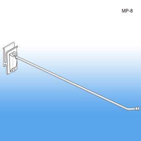 "8"" No Sag™ Easy Remove Corrugated Power Panel Metal Hook, MP-8"
