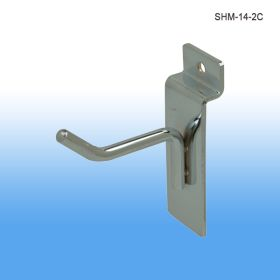 chrome retail display hook, shm-14-2c