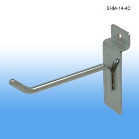 4 inch chrome display hook, SHM-14-4C