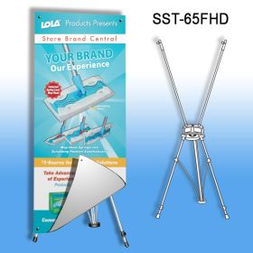 Banner Stand, Heavy Duty, SST-65FHD
