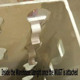 WUGT-01, Warehouse Rack Sign Holder, Inside the Upright