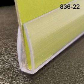 "Clear Banner Hanger Stabilizer | Bottom Support | 22"" Long | 836-22C"