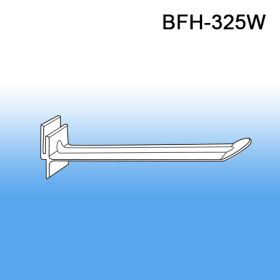 "5"" White Butterfly Power Panel Display Plastic Hooks, BFH-325W"