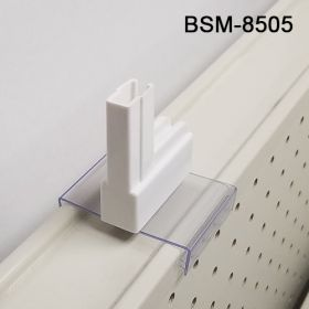 Gripper Teeth Boot Sign Holder, locks firmly onto Gondola, BSM-8505