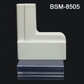 Clip-On Base gondola sign holder, BSM-8505