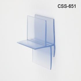 """B Flute Corrugated Shelf Support Insert, Double Capacity,1-1/2"""" wide x 1-1/8"""" deep x 2-1/4"""" tall, CSS-651"""