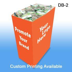 Medium Corrugated Dump Bin Display with Custom Graphics, DB-2