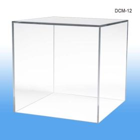"display cube, product merchandising, 12"" square, DCM-12"