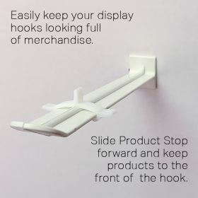 product stop for butterfly hooks, DHPS-503
