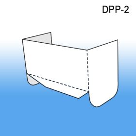 Corrugated Power Panel Display Base HEADER, DPP-2