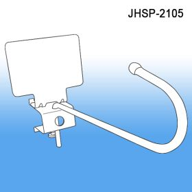 Swivel Metal J-Hook with Channel Mount and Scan Plate, JHSP-2105