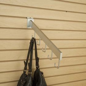metal waterfall display hook for slatwall, SWJH-45-5RSC