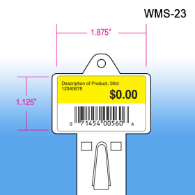 Walmart approved molded heavy duty impulse strip, wms-23