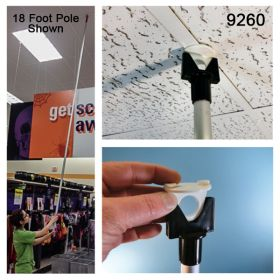 Easy and Safe to use 8' Telescoping Installation Pole, 9248