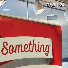 """Classic Beautiful Aluminum Banner Hanger, 24"""", CABH-24"""