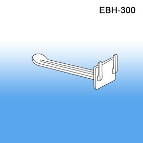 "The Inexpensive Econo BUTTERFLY 3"" Peg Hook, for Double Sided Peg Hook Display Strips, EBH-300"