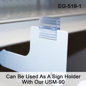 EG-519-3 Can Be Used As A Sign Holder Wth Our USM-90