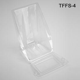 Plastic Literature Holders - Brochure Display, TFFS-4