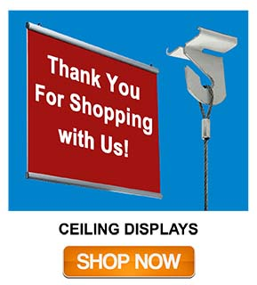 Ceiling Display Systems | Impulse Sales
