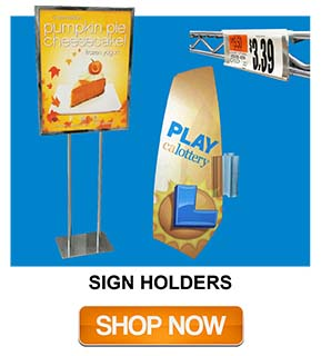 Sign Holders - Point of Sale Display | Impulse Sales
