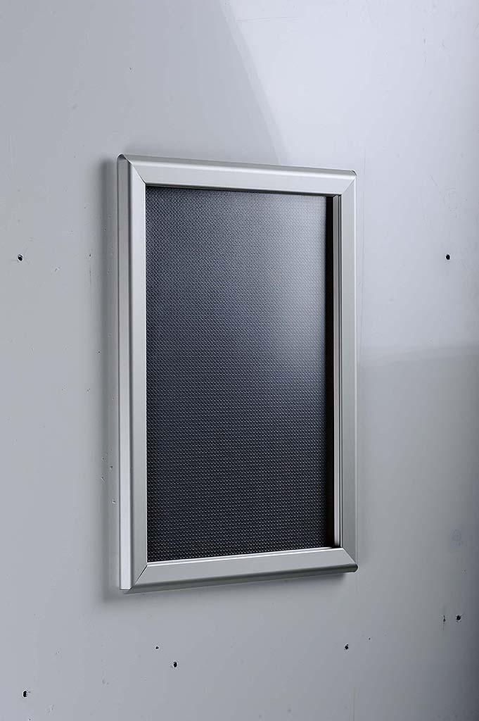 classic snap frame profile 27 x 40 poster size sign poster holders clip strip. Black Bedroom Furniture Sets. Home Design Ideas
