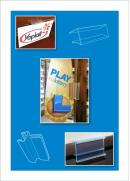 Wood Shelf Sign Holders