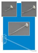 power panel hooks, metal hook, easy remove backer, clip strip corp.