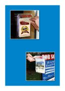 Plastic Outdoor Literature & Brochure Holders