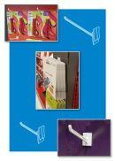 Power Panel Display Hooks, clip strip corp.