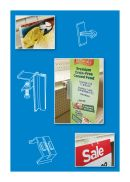 Shelf Edge Clips - Sign & Label Holders | Aisle Violators | Shelf Talkers | POP Signage Hardware