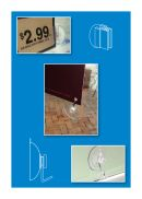 Plastic Suction Cup Sign & Label Holders | Clip Strip