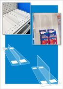 Thermo Formed Shelf Dividers, Clip Strip Corp.