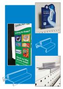 Wide Base Sign Holders, countertop, Clip Strip Corp.