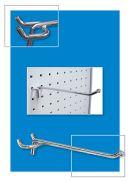 metal pegboard hooks, clip strip corp.