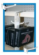 The Econo - Two-Sided Peg Hook Display Strips | Clip Strip Corp.