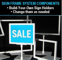 magnetic stem base | sign frames | SHB-011