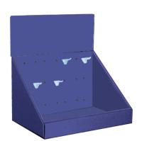 Custom Printed  Pegable Counter Display, PCT-1812