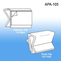All Purpose Adhesive Clip - Wire Mount Sign Holders, APA-105