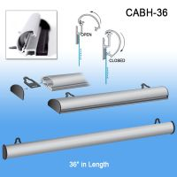 """aluminum banner and sign hanger, upscale, 36"""", CABH-36"""