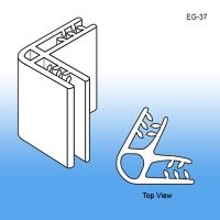 Grip-Tite™ 2-Way 60° Panel Connector/Sign Holder, EG-37