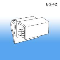 Data Strip Sign Holder- Clear Plastic Material, EG-42