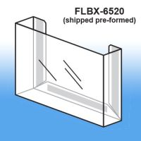 Pre-Formed Peel & Stick Literature Holder, FLBX-6520