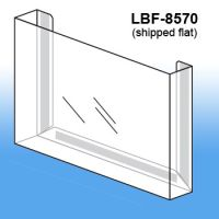 Flat Peel & Stick Literature Holder, LBF-8570
